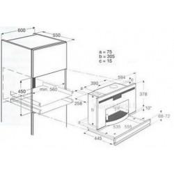AEG pašildymo stalčius PKD6070-M